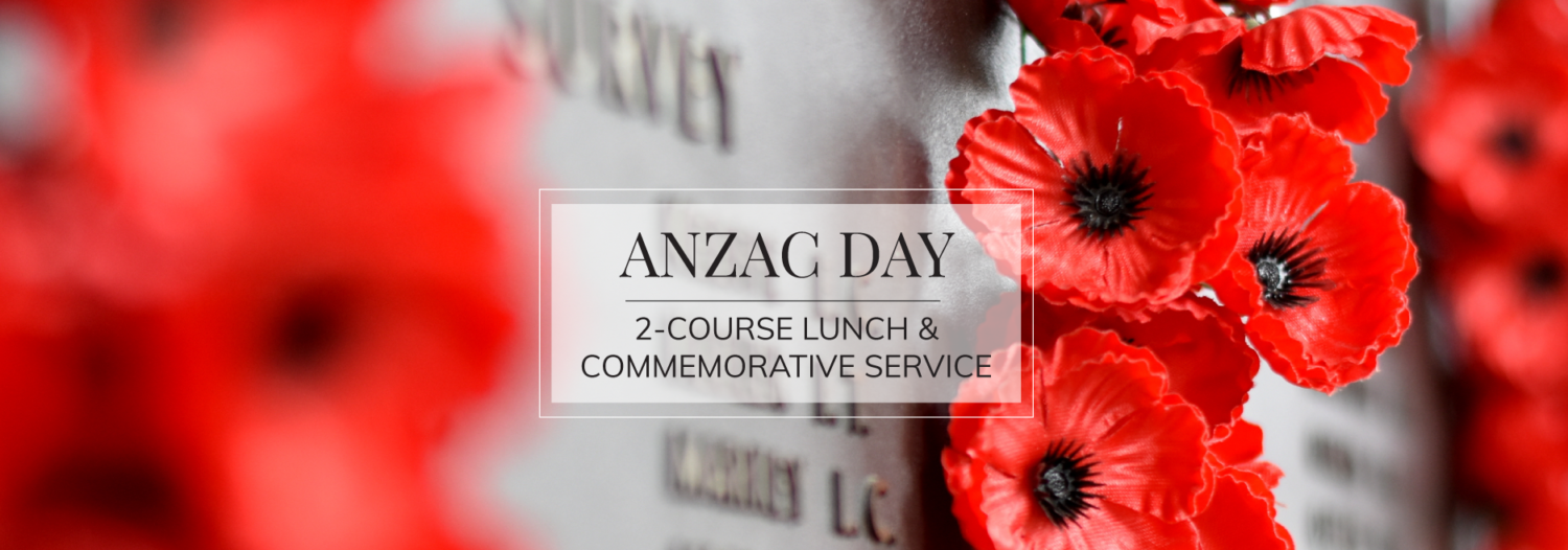 ANZAC-Day-Lunch & Commemorative Service_Cellos-Restaurant_Castlereagh-Boutique-Hotel-Sydney